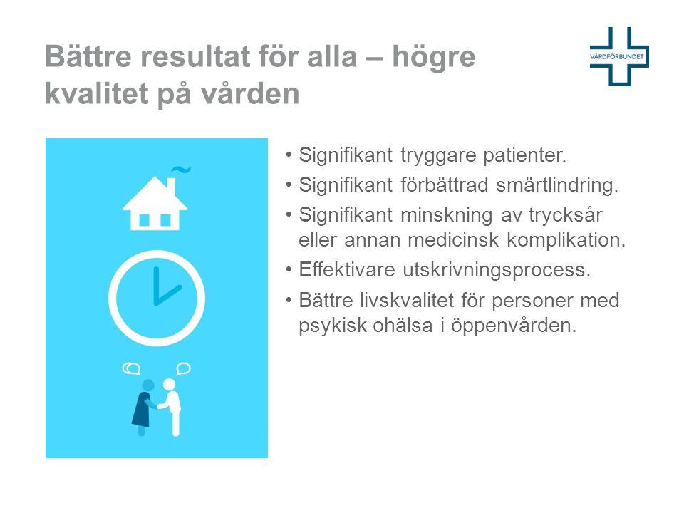 Bättre resultat för alla – högre kvalitet på vården