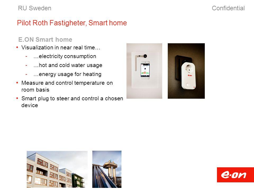 Pilot Roth Fastigheter, Smart home