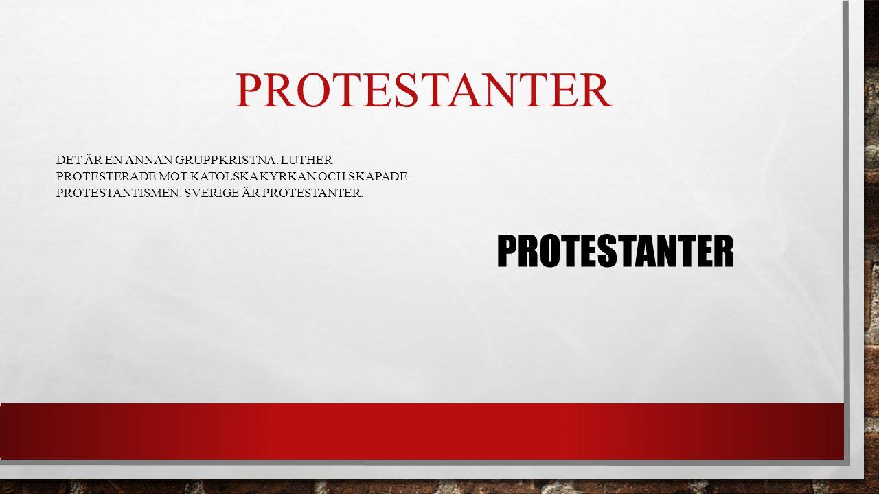 Protestanter Protestanter
