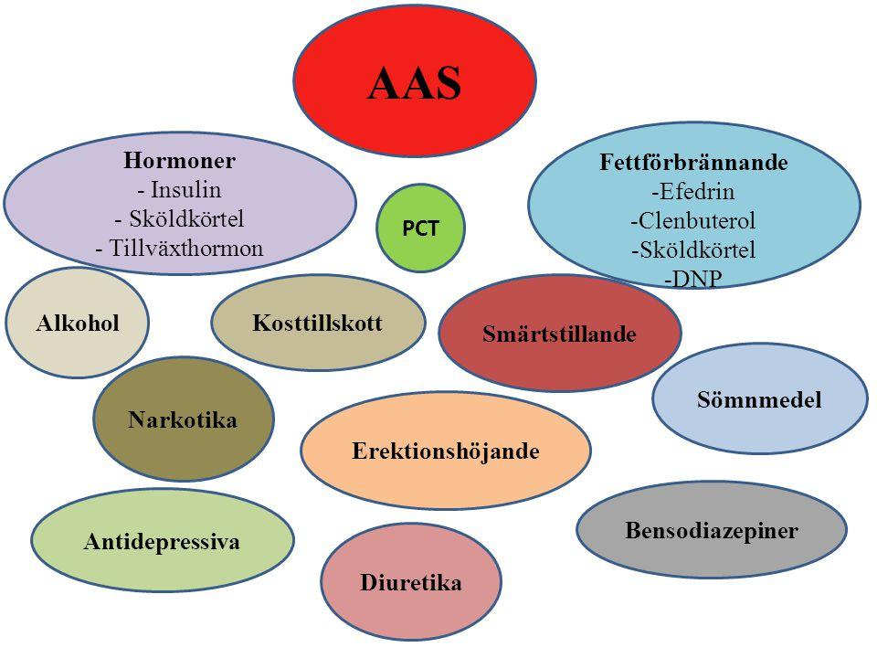 AAS Fettförbrännande Hormoner Efedrin - Insulin Clenbuterol