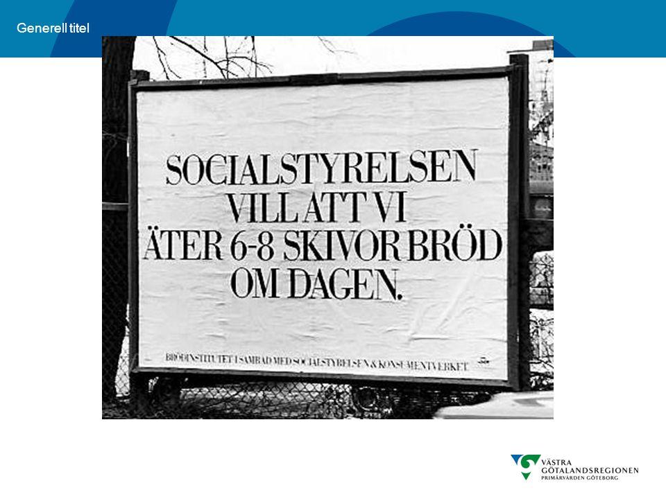 Resonera kring synen på socialstyrelsen och Livsmedelsverket som överhet