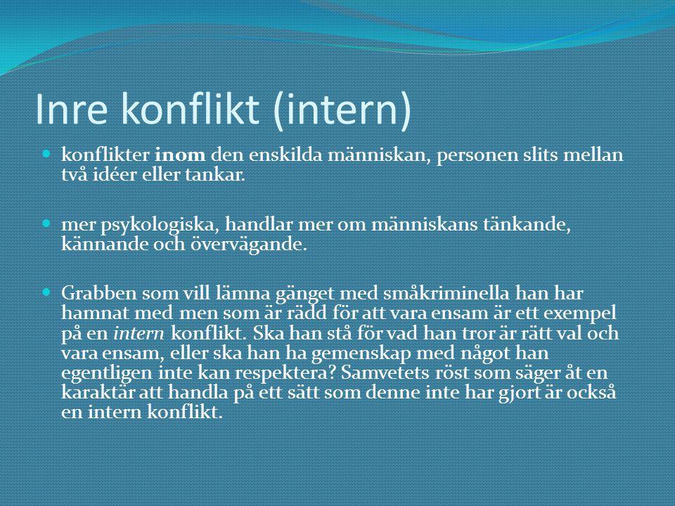 Inre konflikt (intern)