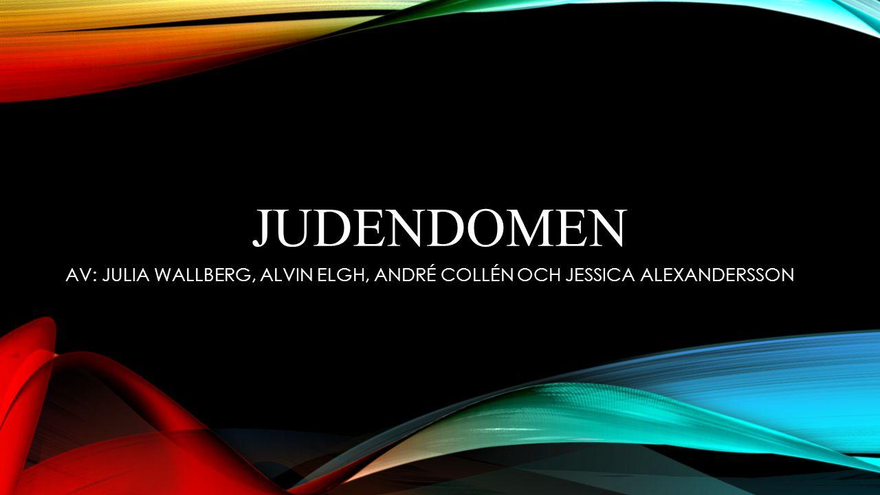 AV: JULIA WALLBERG, ALVIN ELGH, ANDRÉ COLLÉN OCH JESSICA ALEXANDERSSON