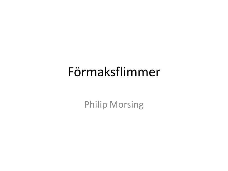 Förmaksflimmer Philip Morsing