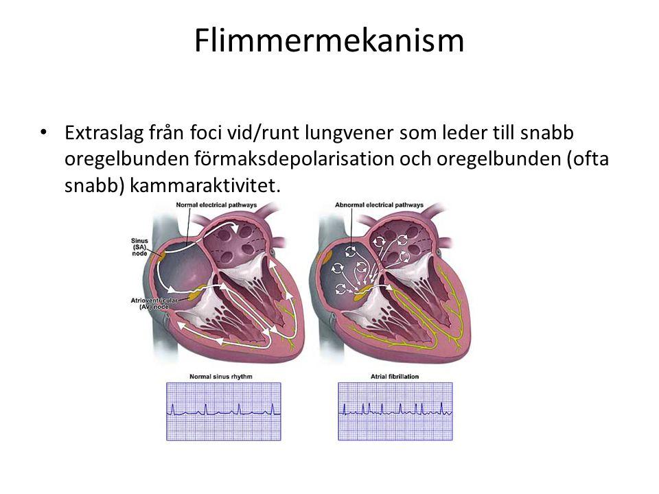 Flimmermekanism