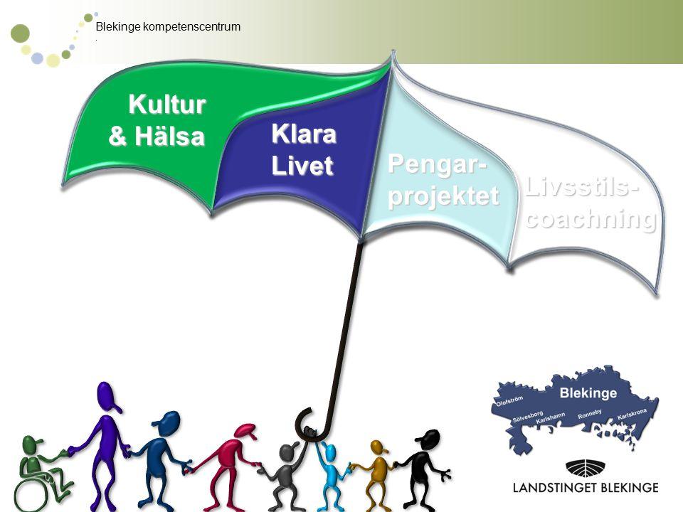 Kultur & Hälsa Klara Livet Pengar- projektet Livsstils- coachning