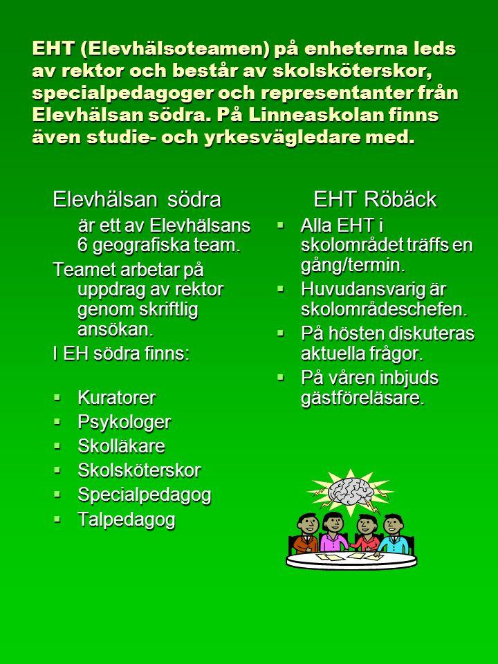 Elevhälsan södra EHT Röbäck