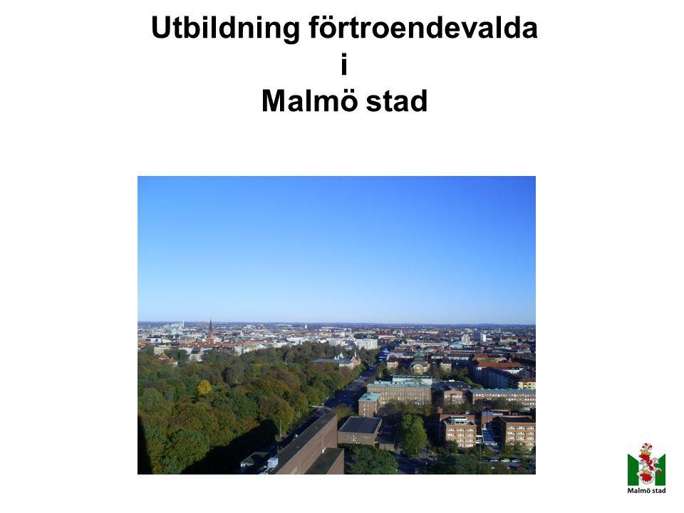 Utbildning förtroendevalda i Malmö stad