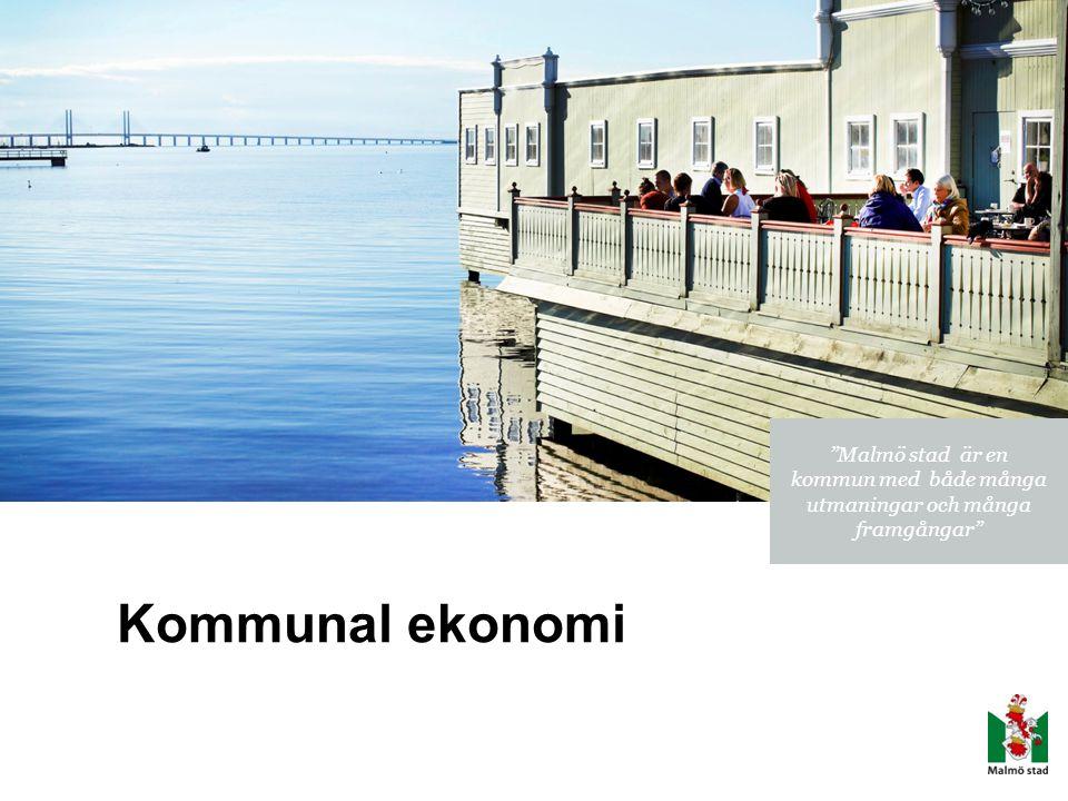 Malmö stad är en kommun med både många utmaningar och många framgångar