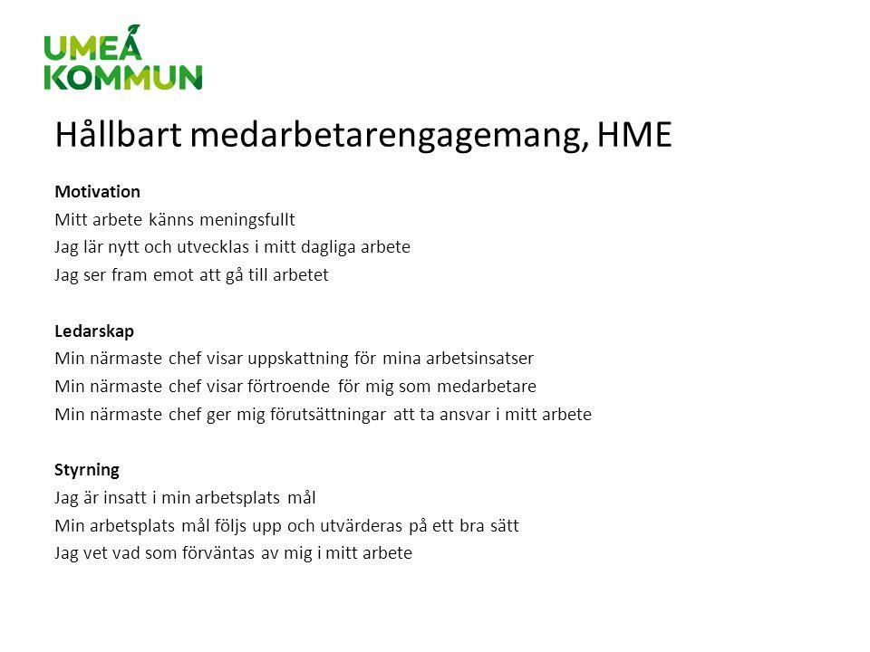 Hållbart medarbetarengagemang, HME