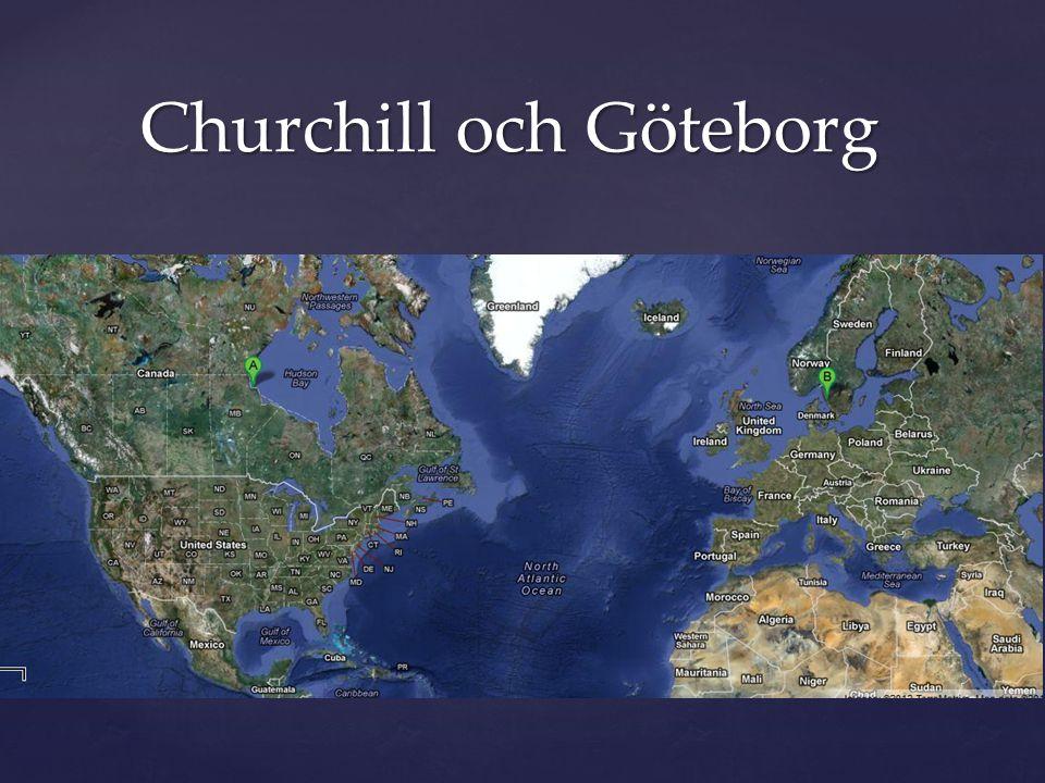 Churchill och Göteborg