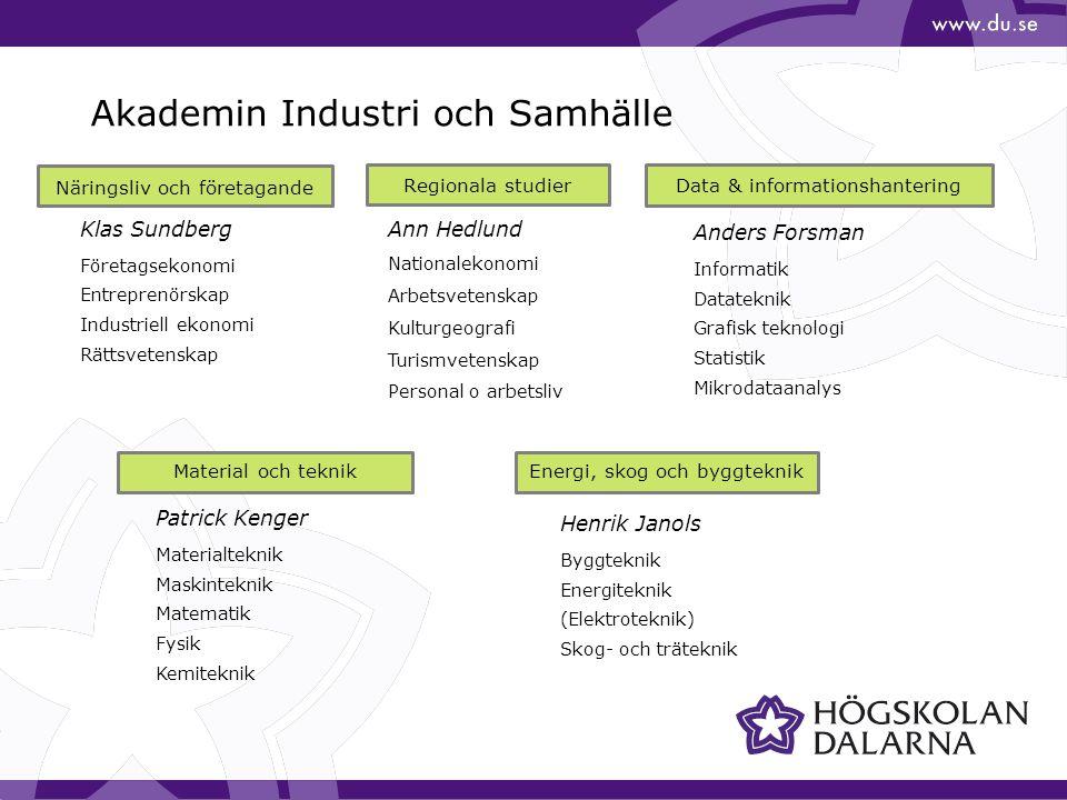 Akademin Industri och Samhälle