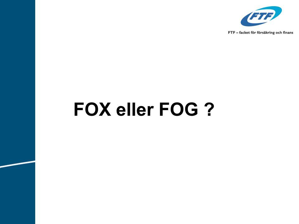 FOX eller FOG Viktigt att vara tydlig och säkerställa att mottagaren förstått!!! 0 minut