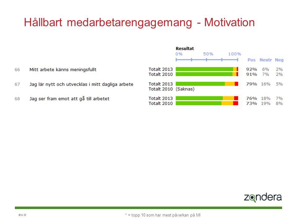 Hållbart medarbetarengagemang - Motivation