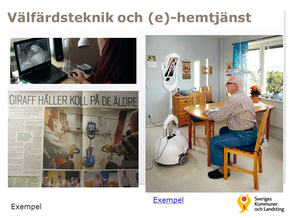 Välfärdsteknik och (e)-hemtjänst