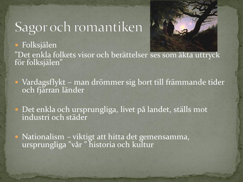 Sagor och romantiken Folksjälen