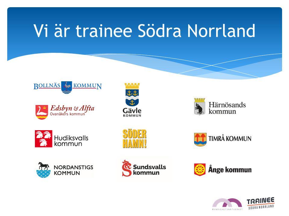 Vi är trainee Södra Norrland
