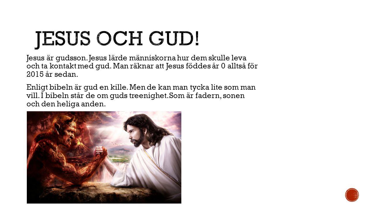 Jesus och gud!
