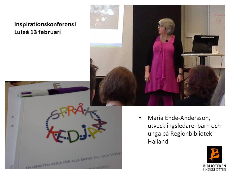 Inspirationskonferens i Luleå 13 februari