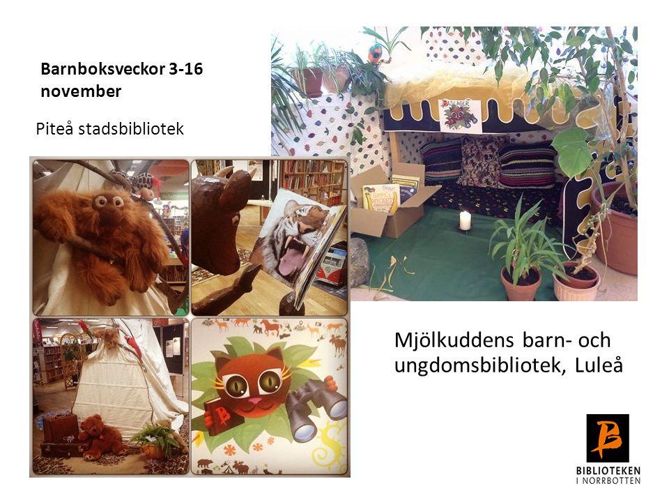 Barnboksveckor 3-16 november