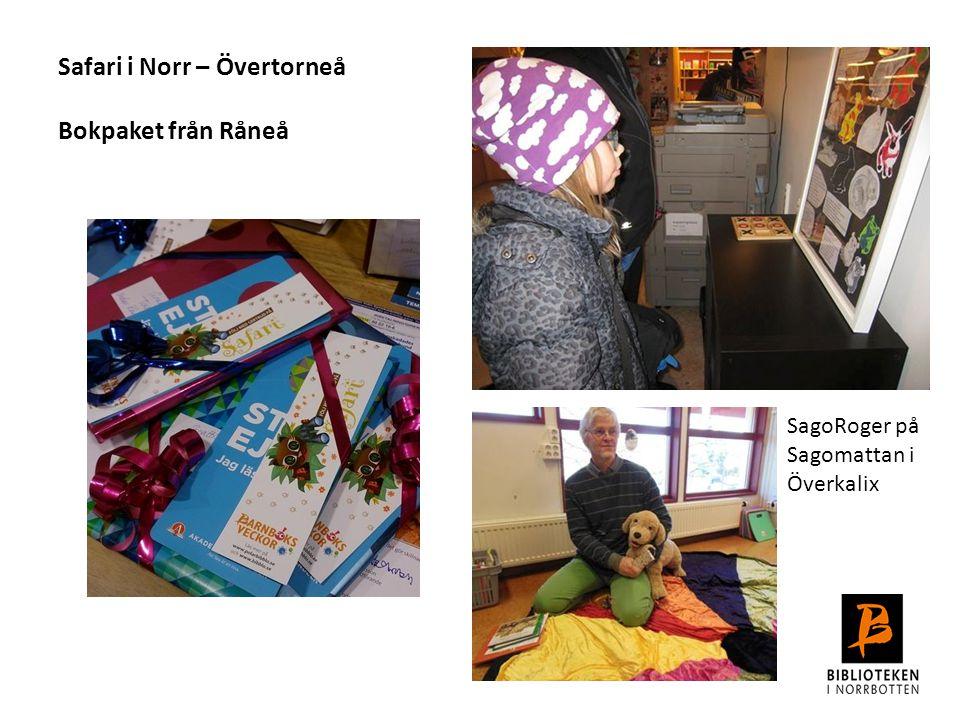 Safari i Norr – Övertorneå Bokpaket från Råneå
