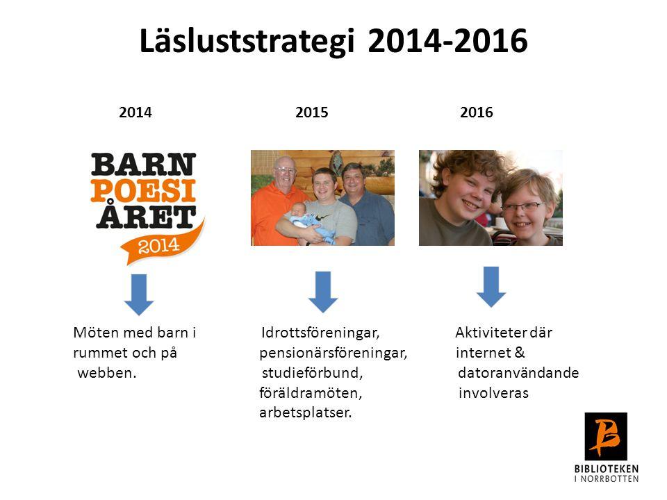 2014 2015 2016. Möten med barn i Idrottsföreningar, Aktiviteter där.