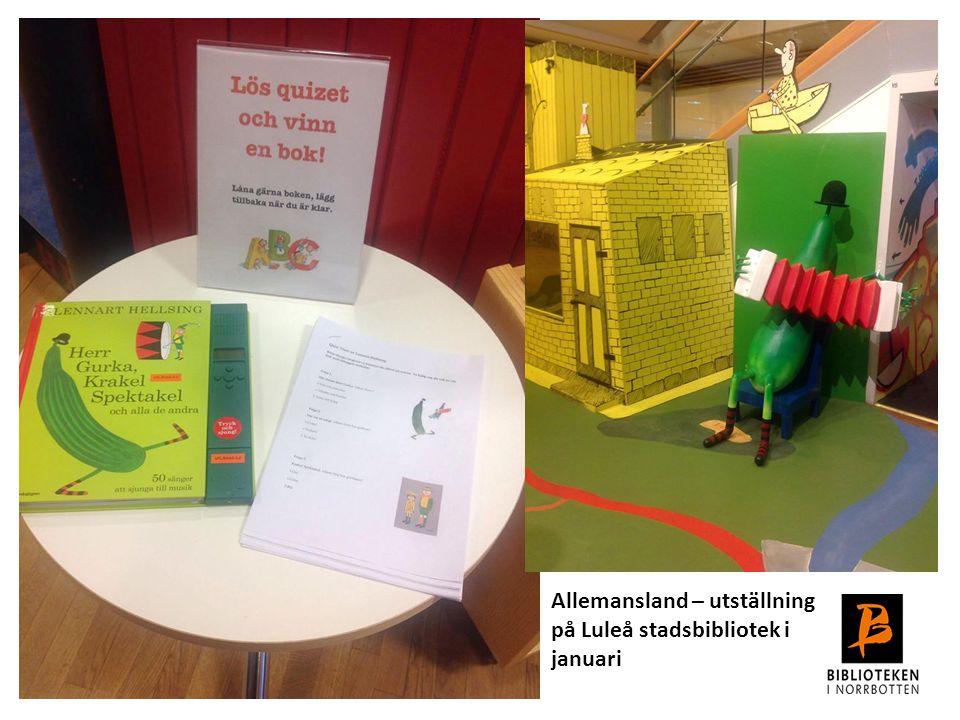 Allemansland – utställning på Luleå stadsbibliotek i januari