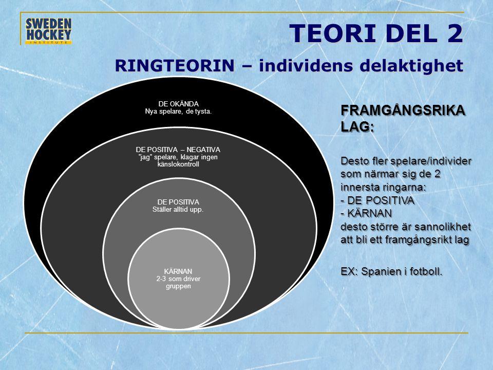 TEORI DEL 2 RINGTEORIN – individens delaktighet