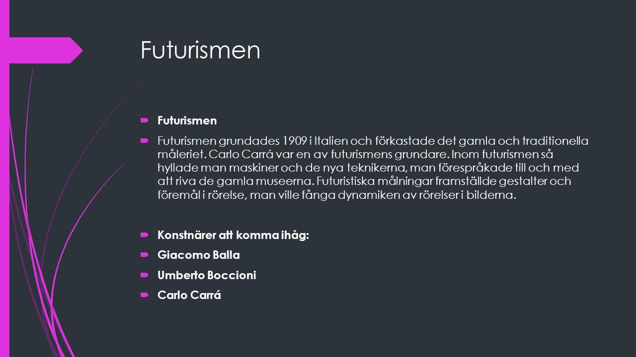 Futurismen Futurismen