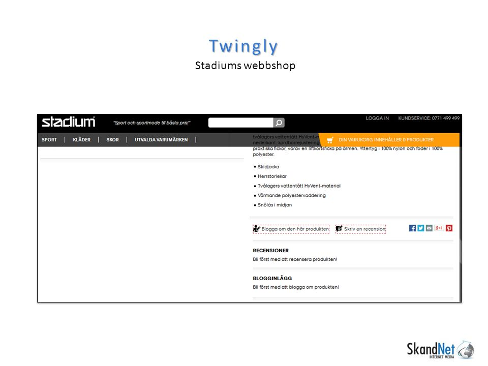 Twingly Stadiums webbshop