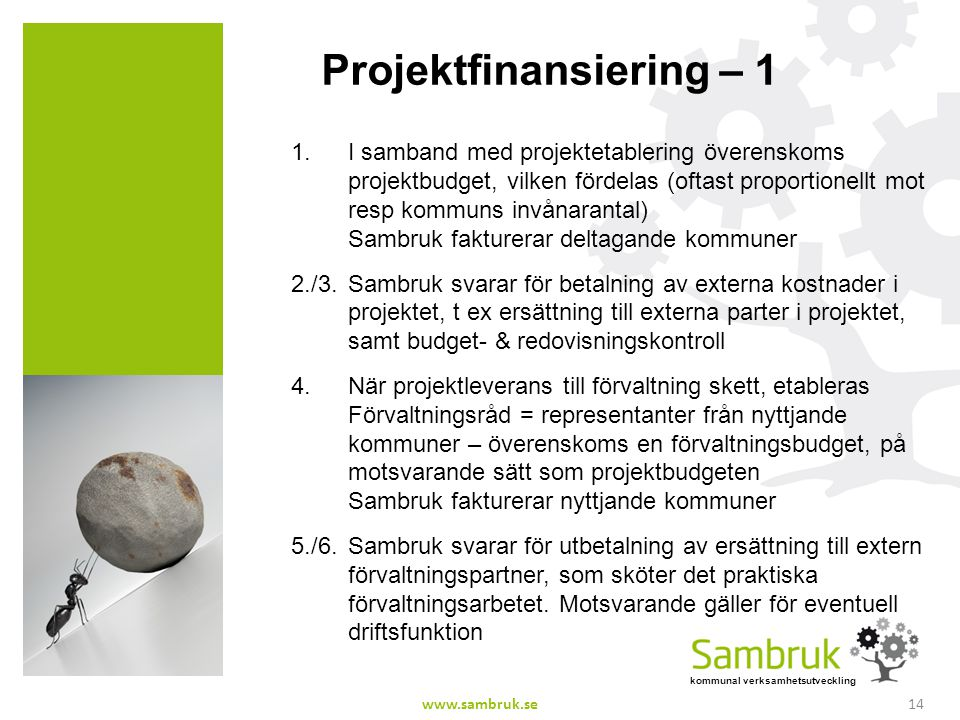 Projektfinansiering – 1
