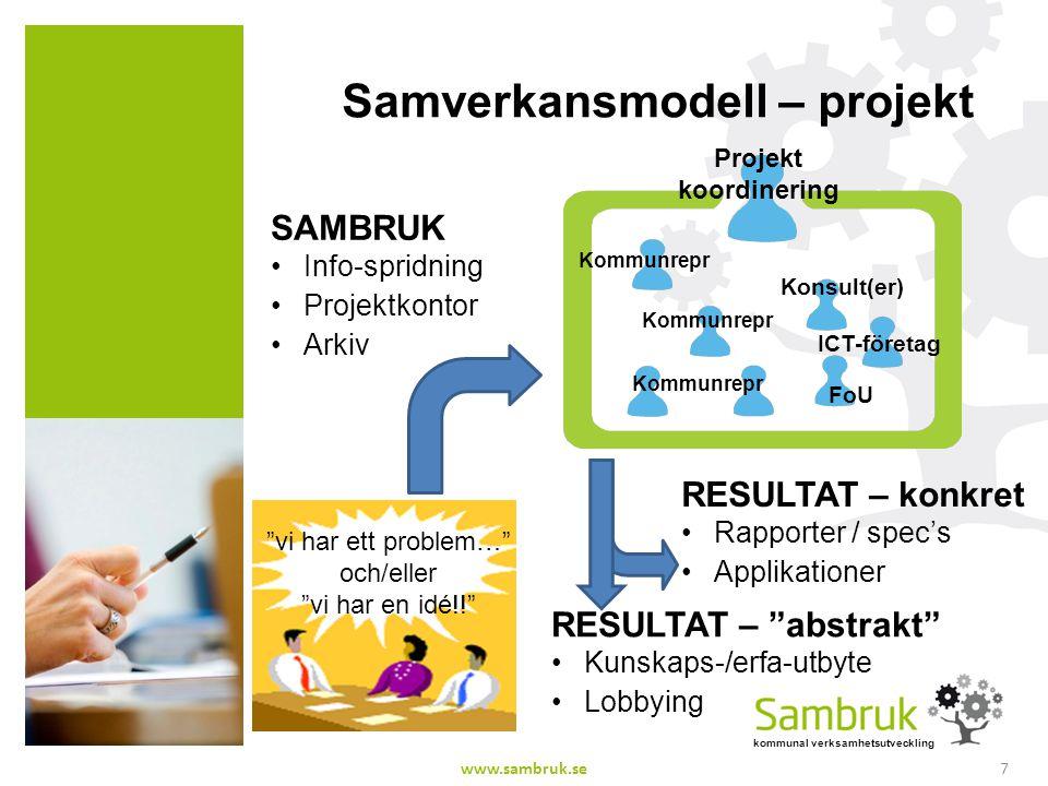 Samverkansmodell – projekt