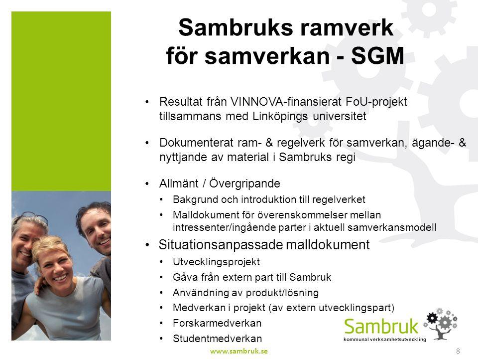 Sambruks ramverk för samverkan - SGM