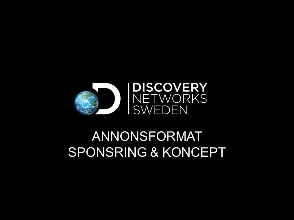 Annonsformat Sponsring & Koncept