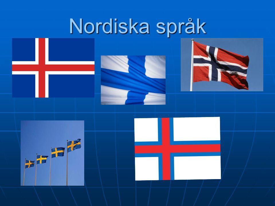 2017-04-18 2017-04-18 Nordiska språk 1