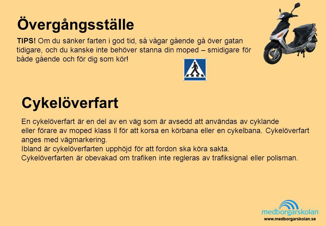 Övergångsställe Cykelöverfart