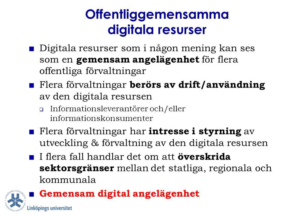 Offentliggemensamma digitala resurser