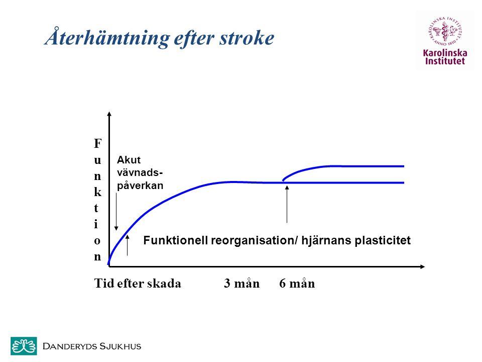Återhämtning efter stroke