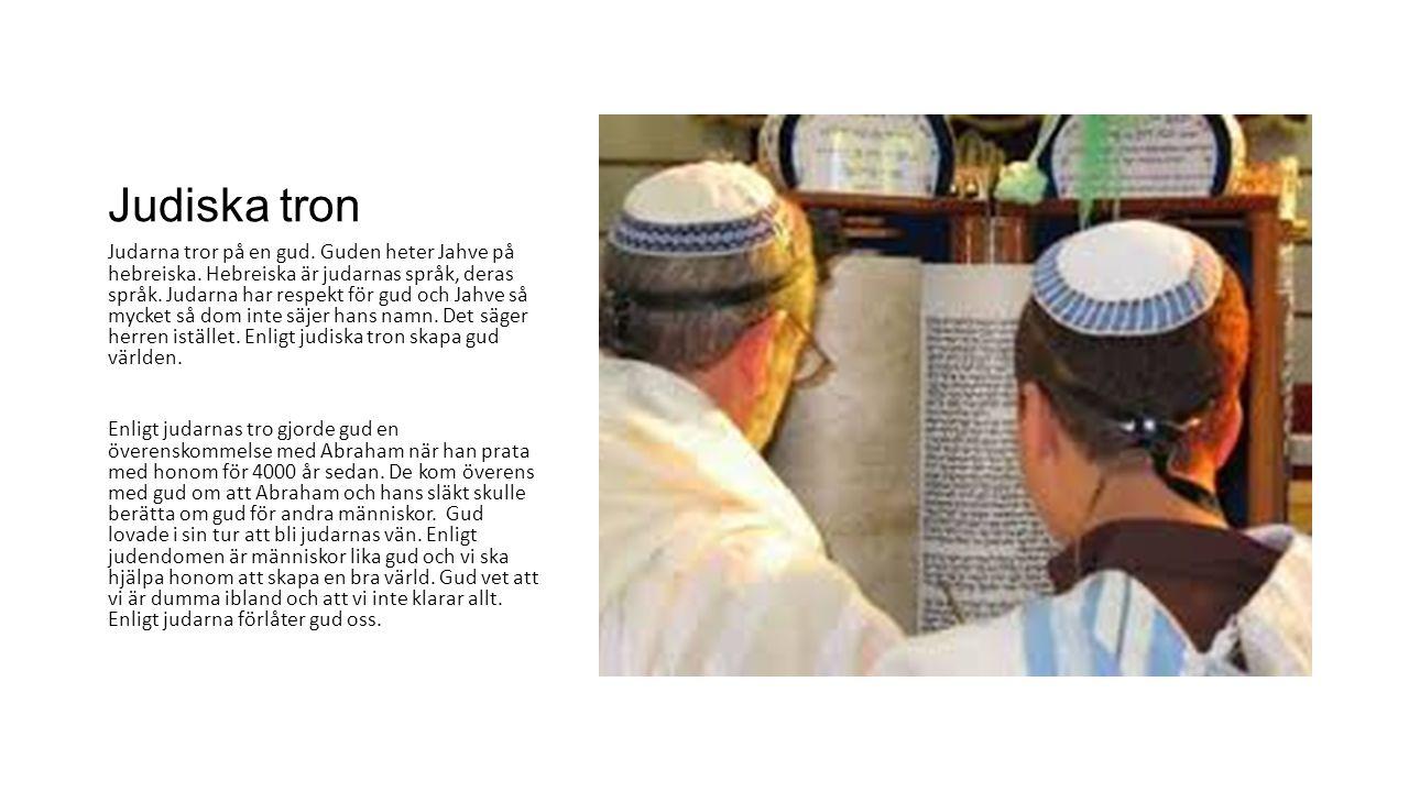 Judiska tron