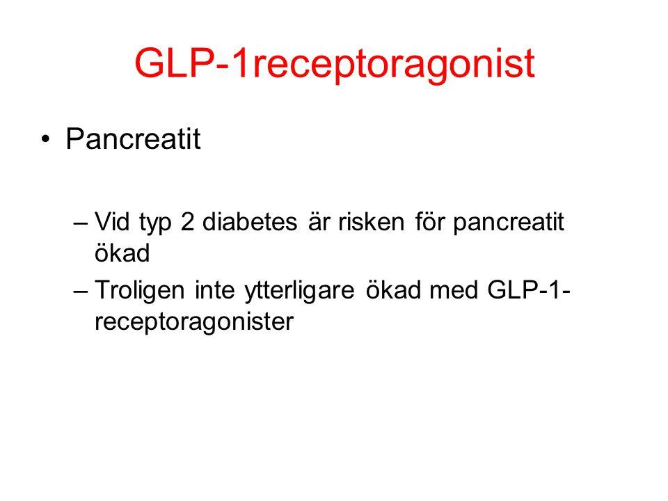GLP-1receptoragonist Pancreatit
