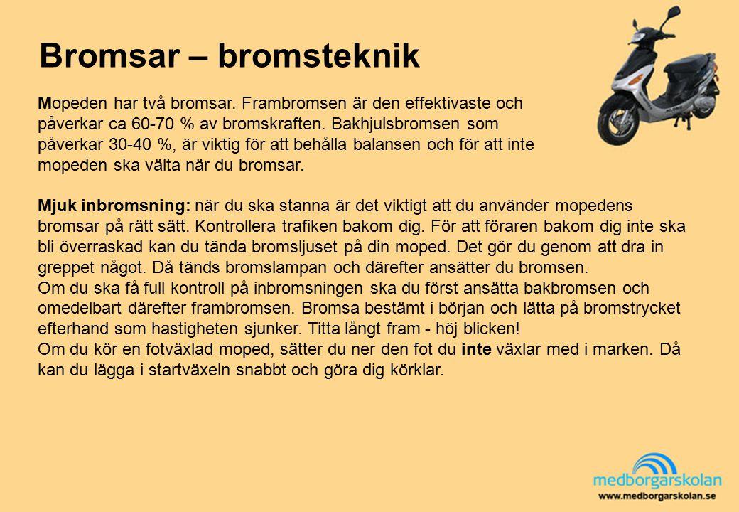 Bromsar – bromsteknik