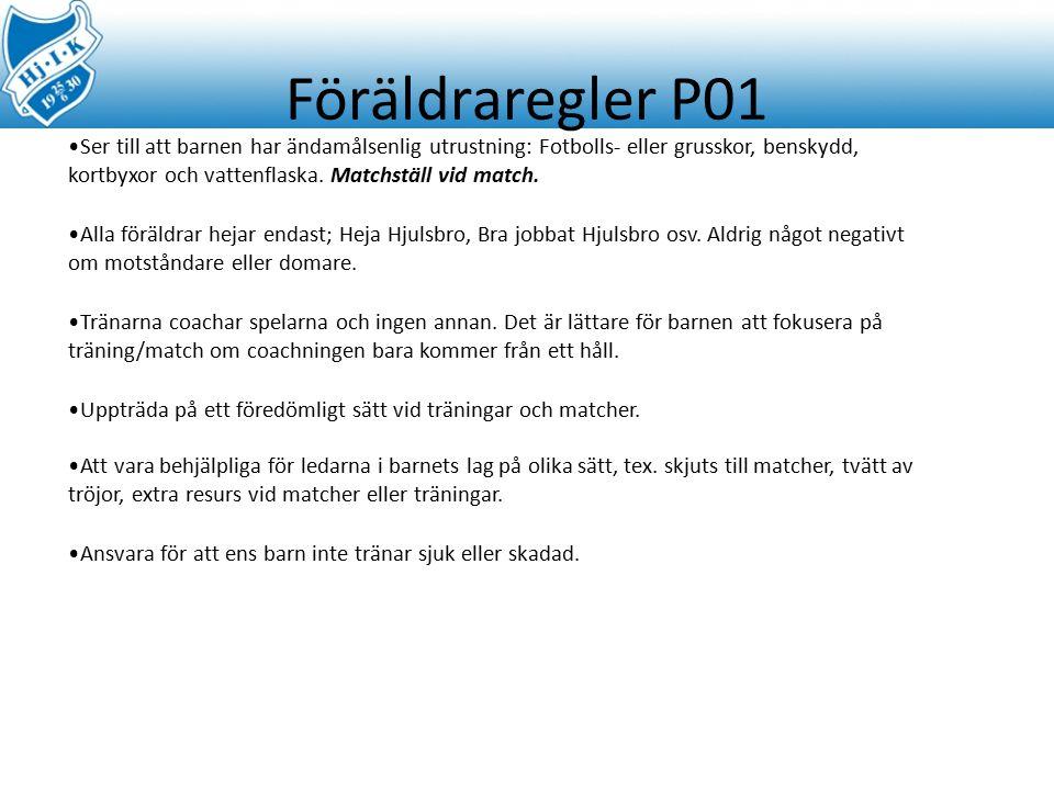 Föräldraregler P01