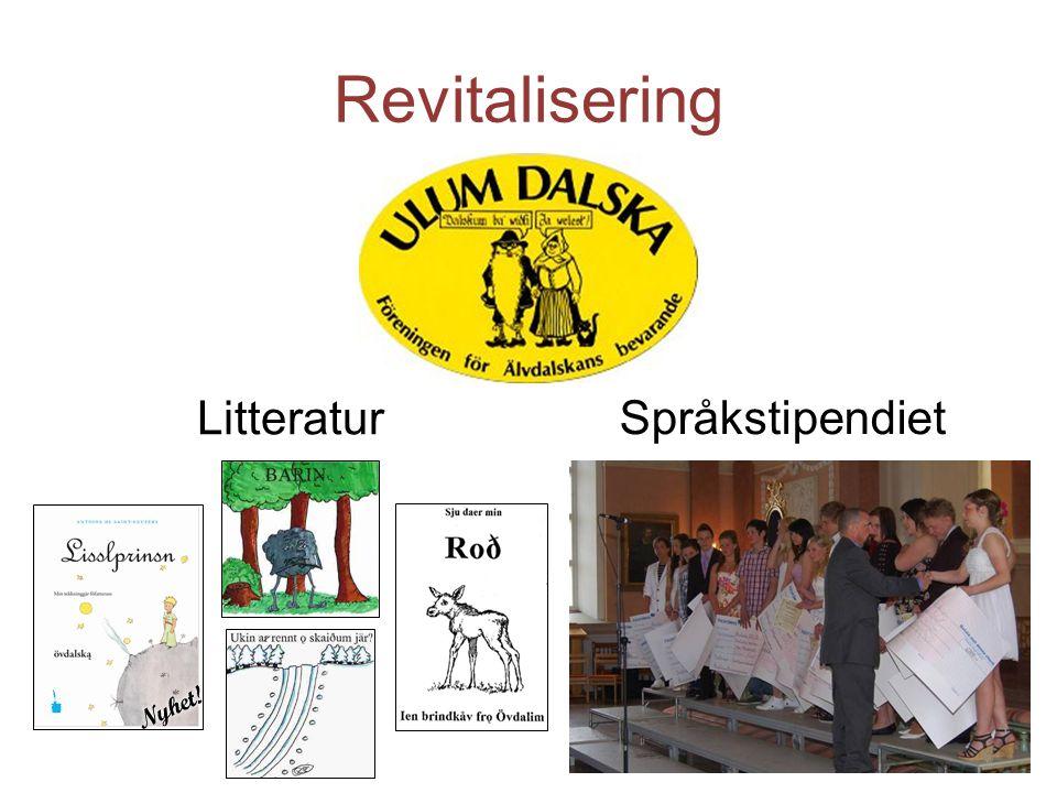 Revitalisering Litteratur Språkstipendiet