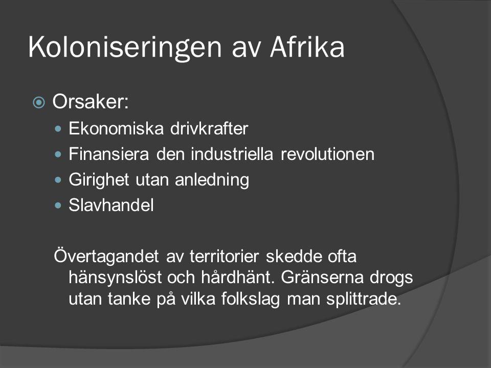 Koloniseringen av Afrika