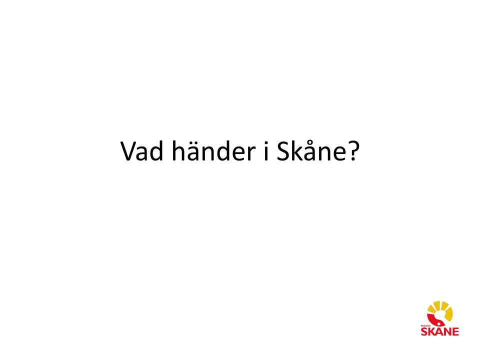Vad händer i Skåne