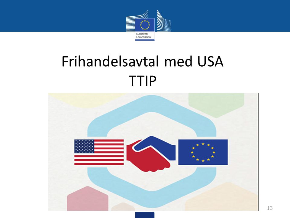 Frihandelsavtal med USA TTIP