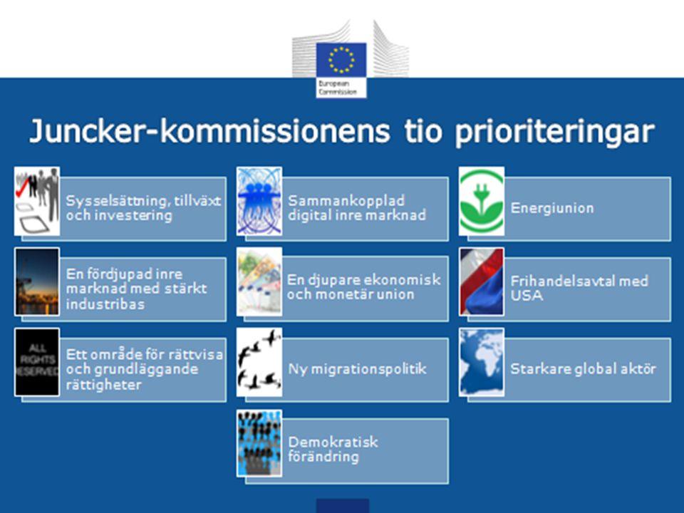 Junkers prioriteringar