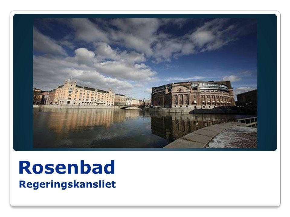 Rosenbad Regeringskansliet