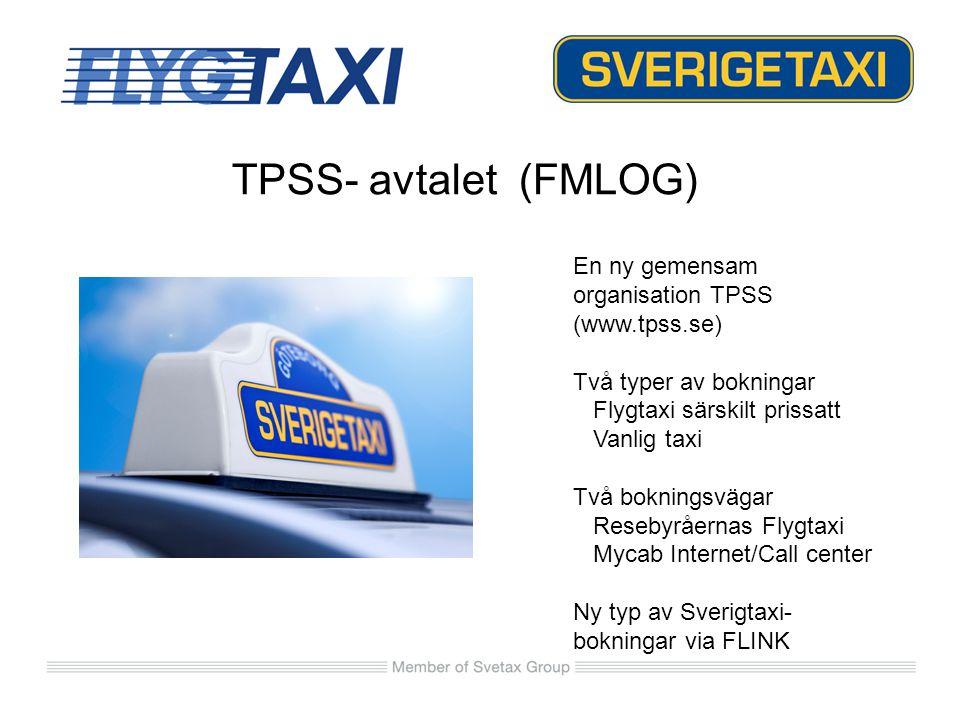 TPSS- avtalet (FMLOG) En ny gemensam organisation TPSS (www.tpss.se)