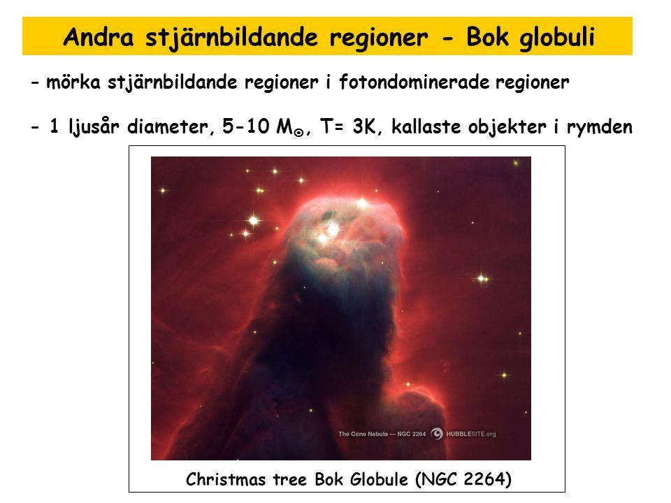 Andra stjärnbildande regioner - Bok globuli